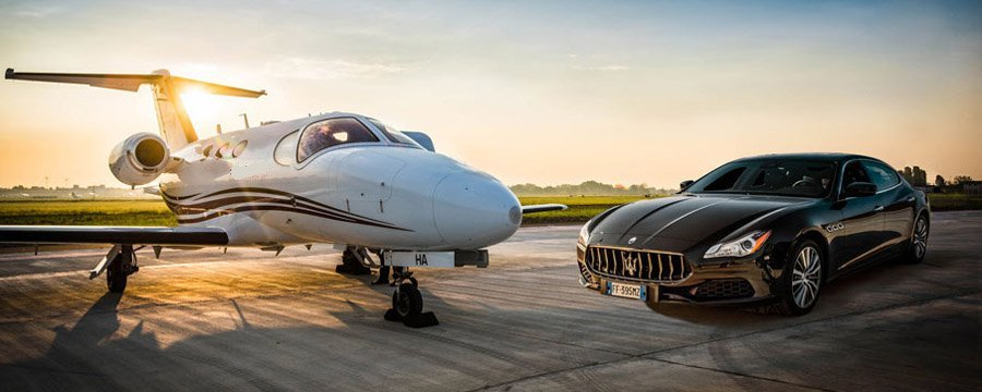 De Cessna Citation Mustang op contractbasis