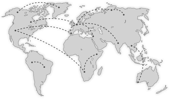Werledkaart-Global-Aviation