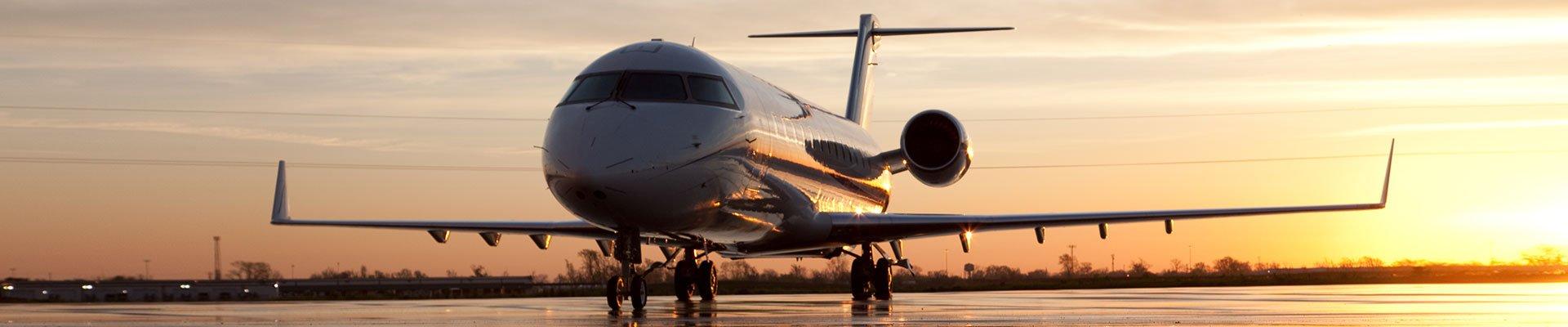Vliegtuig verhuur